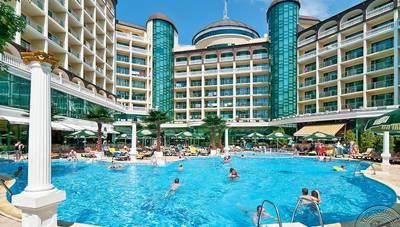 Bulharsko - Slnečné pobrežie - Hotel Planeta - hotel s bazénom 99458a1c737
