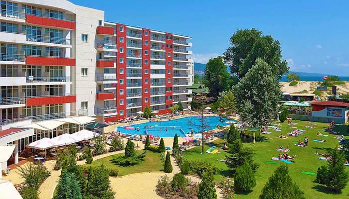 Bulharsko - Slnečné pobrežie - Hotel Fénix - hotelový areál ... 5d6b142e640