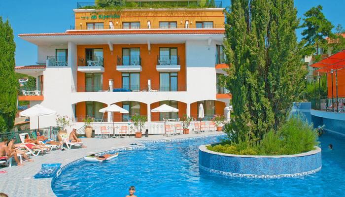 Bulharsko - Slnečné pobrežie - Hotel Kiparisite - hotel s bazénom ... ac590739c68