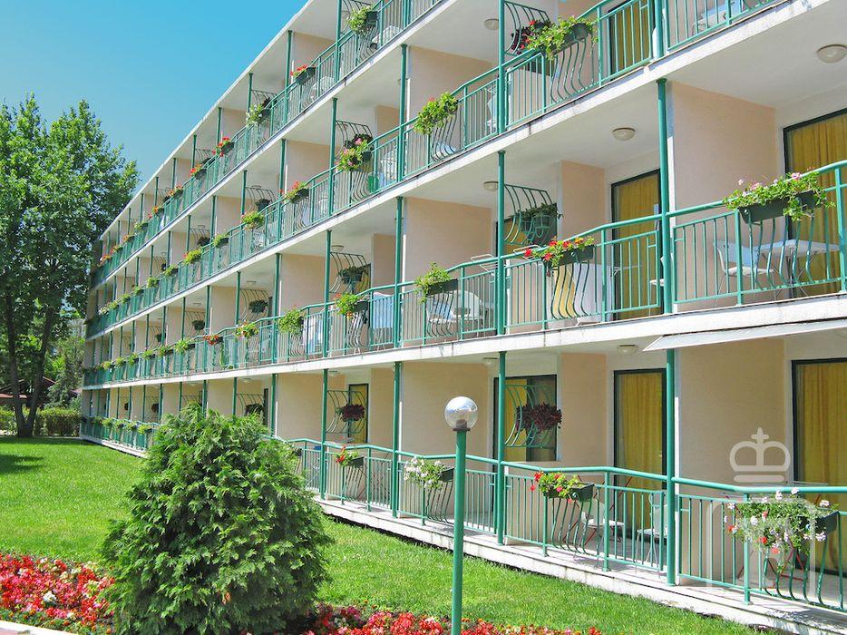 Bulharsko - Slnečné pobrežie - hotel Trakia - exteriér ... 029ff33f9d4